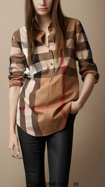butberry outlet imm4  chemise femme burberry taille s