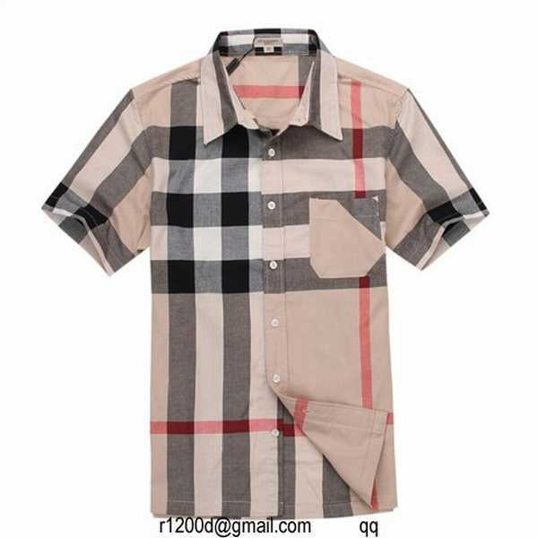 b7574a250e76 chemise burberry homme manche courte soldes magasin