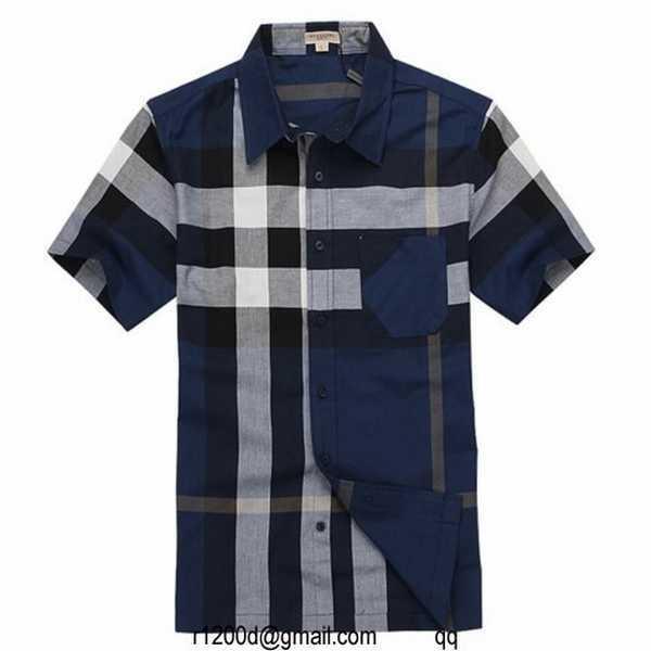 chemise carreaux cintree homme. Burberry en italie b62f888ab28