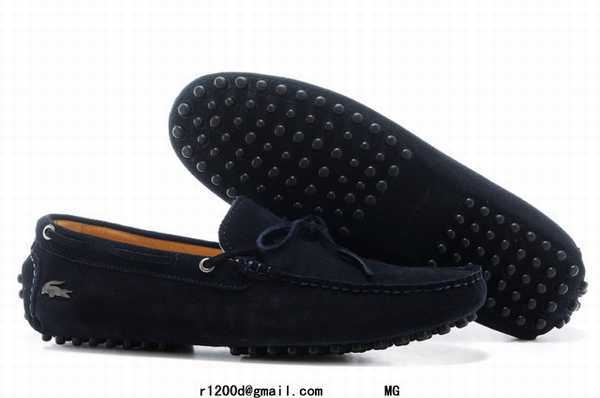 Homme Chaussures Cuir Lacoste Marron chaussures Soldes kOZXiwPuT