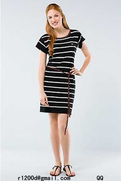 robe lacoste noire,robe de marque discount,robe lacoste