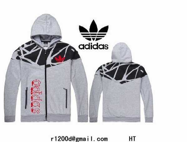 sweat zip capuche hommes adidas