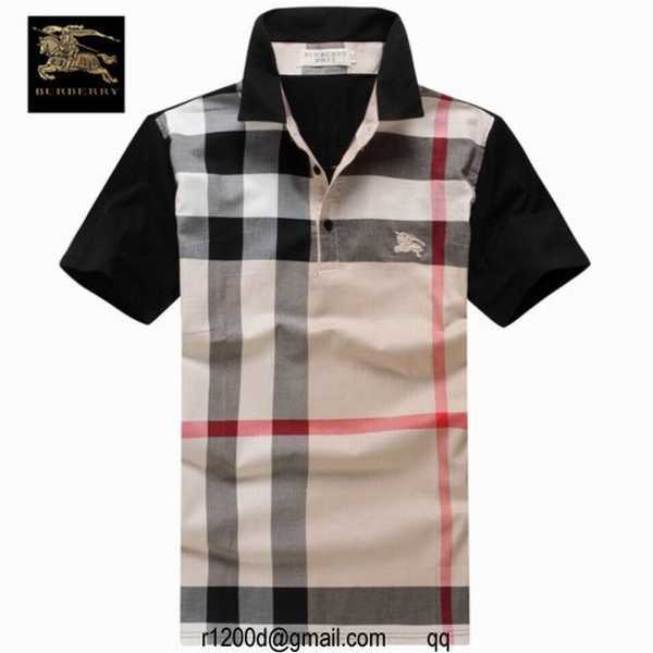 ... tee shirt burberry en solde achat vetement burberry pas cher polo  burberry homme 3f42bb653c6